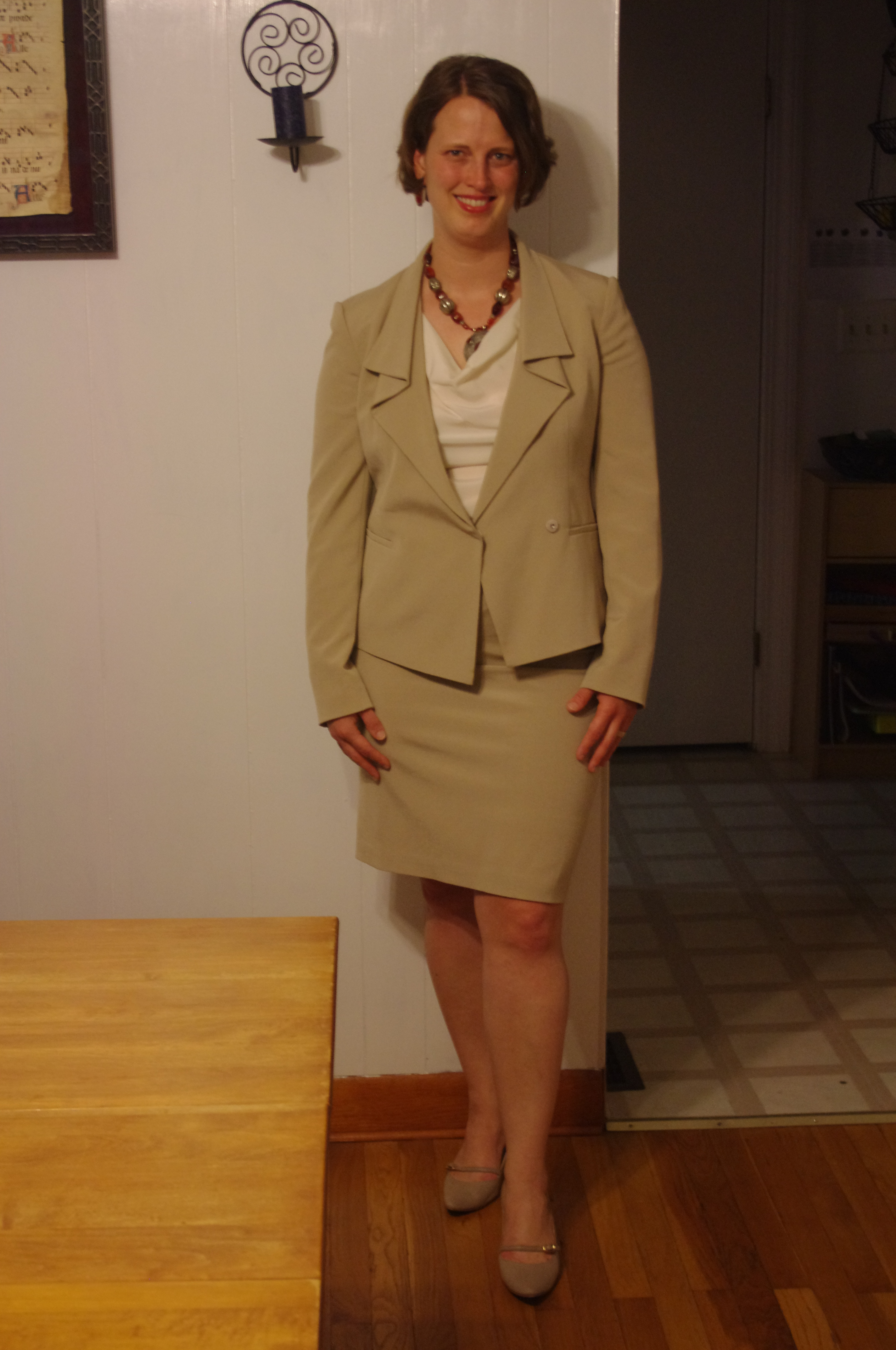 Suit And Pantyhose Is The 85